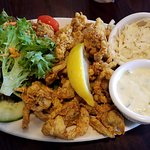 This travelers is the Best Fried Clams in MV!