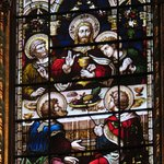 beautiful stained glass and carvings, worth the visit!
