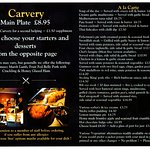 Carvery Service and more !