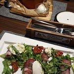 Борщ и салат
