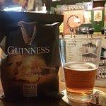 Guiness Chips und Murphys Bier
