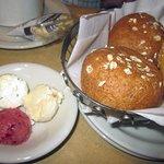 Bread Basket w/ Flavored Butters