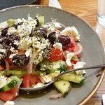 Greek salad. Very fresh!