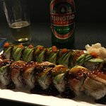 Dragon & caterpillar rolls