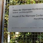 ヴァンゼー会議記念館の写真