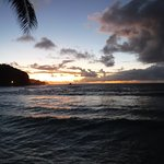 Another sunrise picture from Tisa's Barefoot Bar
