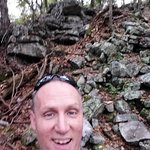 Another rock formation you must traverse on Massanutten Ridge Trail