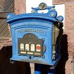 Historischer Briefkasten bei der Alten Post