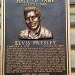 Elvis's plaque