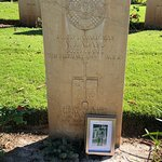 Beach Head War Cemetery Foto