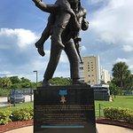 Outside Metal of Honor Statue