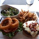 Burger platter! Everything was amazing :)