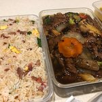 Fried Rice and Beef in Black Bean Sauce