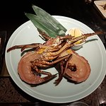 Raw lobster, before cooking