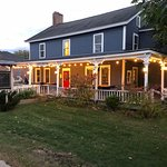 A great place to have some food and drinks locally sourced on a cool, crisp autumn night in the