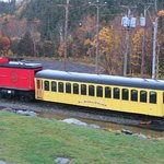 Foto van The Mount Washington Cog Railway