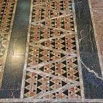 Details of the floor