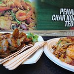Sambal pipis and char kway teow from Old Jim Kee