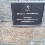 リバプール中央図書館の写真
