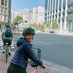 River side cycling tour