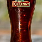 Kilkenny beer is only one of many different beer types at Queens Pub!!