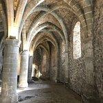 View inside teh Chateau de Chillon