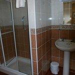 nice bathroom ,good shower