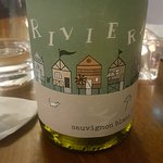 The wine complimented the food superbly
