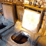 Abbeydale Industrial Hamlet - crucible furnace