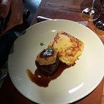 Filé com foie gras