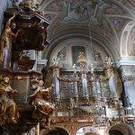 Interior, St. Anne's church, Warsaw