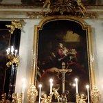 Dipinto all'altare di Andrea Pozzo