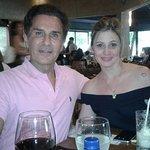 Eu e Patrícia no Djapa em Moema, São Paulo.