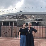 Un paseo por la universidad y el estadio olímpico