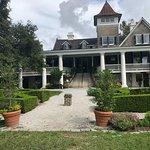 The mansion at Magnolia Plantation
