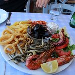 Seafood mix for two