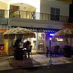 Hotel entrance, Deep Roots Bar