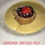 Jam Roly Poly Dessert