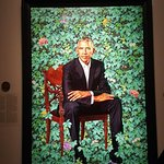 Presidential portraits. totally worth it.
