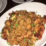 Chicken, Shrimp & Andouille Sausage Jambalaya!