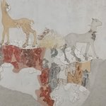 Picture originally found on house wall in Akrotiri