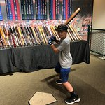 MLB player bats