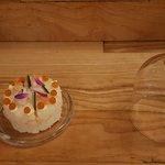 'verjaardag' taartje