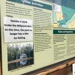 Broken dam = no pond