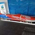 Bobsled at Whistler Sliding Center