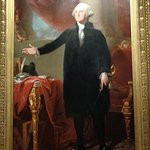 Gilbert Stuarts portrait of George Washington.