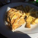 Cheese & Mushroom Omelette
