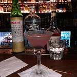 An aviation with aviation gin