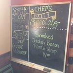 Specials fo the day