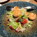 Garlic pepper shrimp